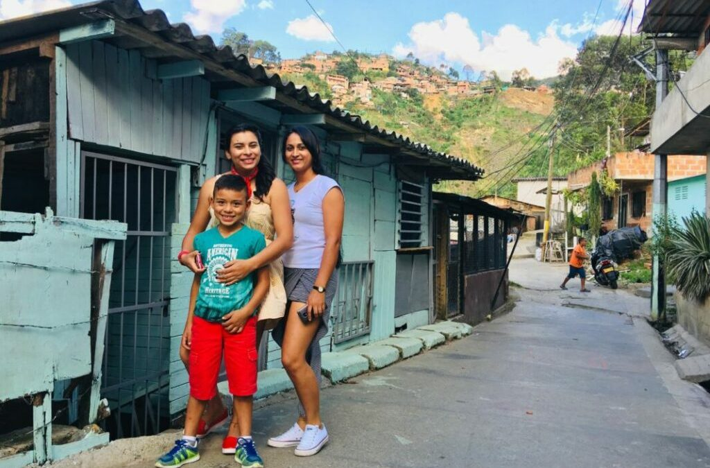 Medellin: lunch at Yeniffer's home