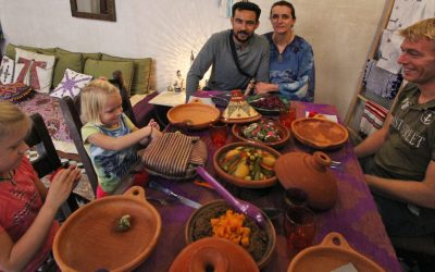 Fes, Morocco: Eating with a local
